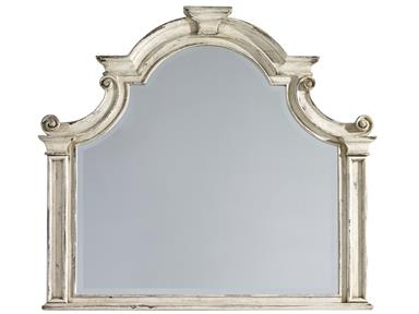 Eleonora White Mirror Santa Barbara