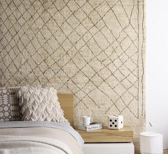Moroccan rugs wall decor santa barbara