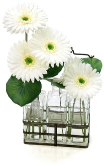 Gerber Daisy in Vase Santa Barbara
