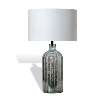 Indus Blue Glass Lamp Santa Barbara