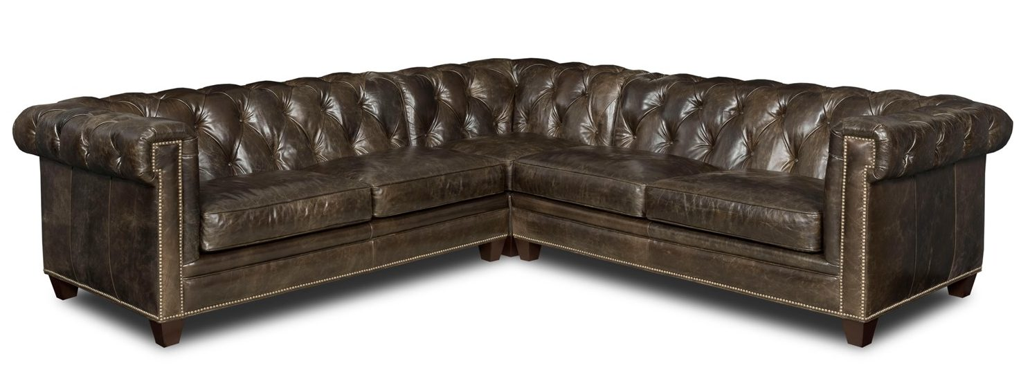 three piece leather sectional santa barbara design center-2