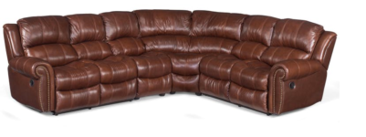 Cherry Brown Sectional santa barbara design center