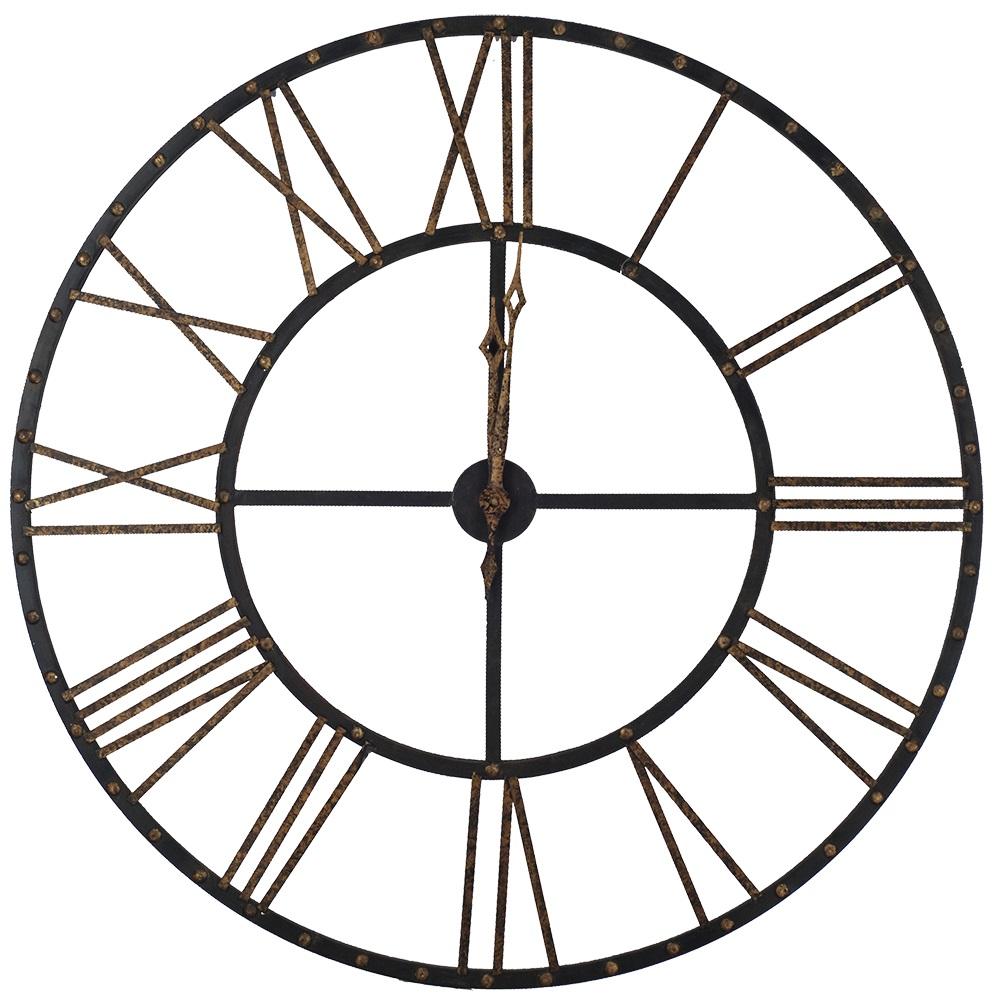 Mordrake Antique Bronze Clock Santa Barbara