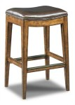 Elderflower Backless Barstool Santa Barbara