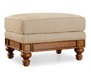 Honey Upholstered Ottoman Santa Barbara