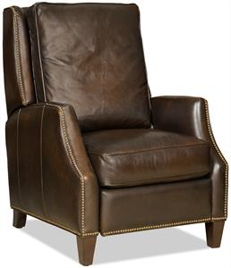 Trevor Brown Leather Recliner Santa Barbara