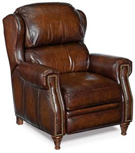 Rainier Leather Recliner Santa Barbara