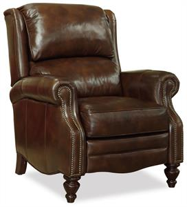 Hazel Leather Recliner Santa Barbara