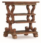 Red Hickory Accent Table Santa Barbara