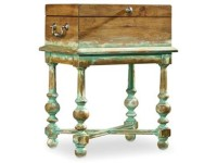 Monaco Antique Box Accent Table Santa Barbara