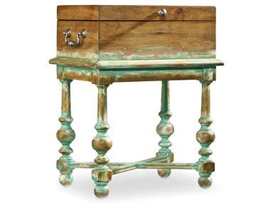 Monaco Antique Box Accent Table Santa Barbara