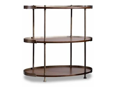 Three Tier Accent Table Santa Barbara