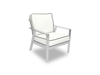 Trento Cushioned Lounge Chair Santa Barbara