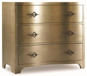 Aurous Three Drawer Chest Santa Barbara