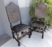 Antique Leather Chairs Santa Barbara