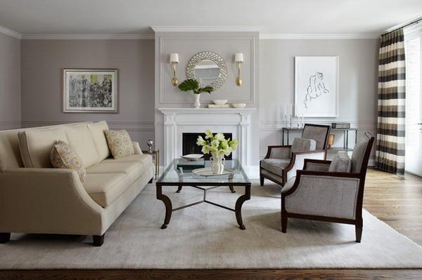 Incredible Living Room With Cream Sofa Gallery Ctpaints Santa Barbara Design Center