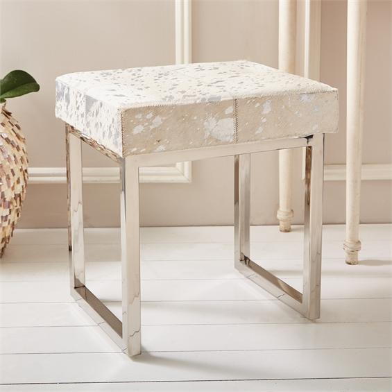 Silvia Metallic Bench Santa barbara design center 29221