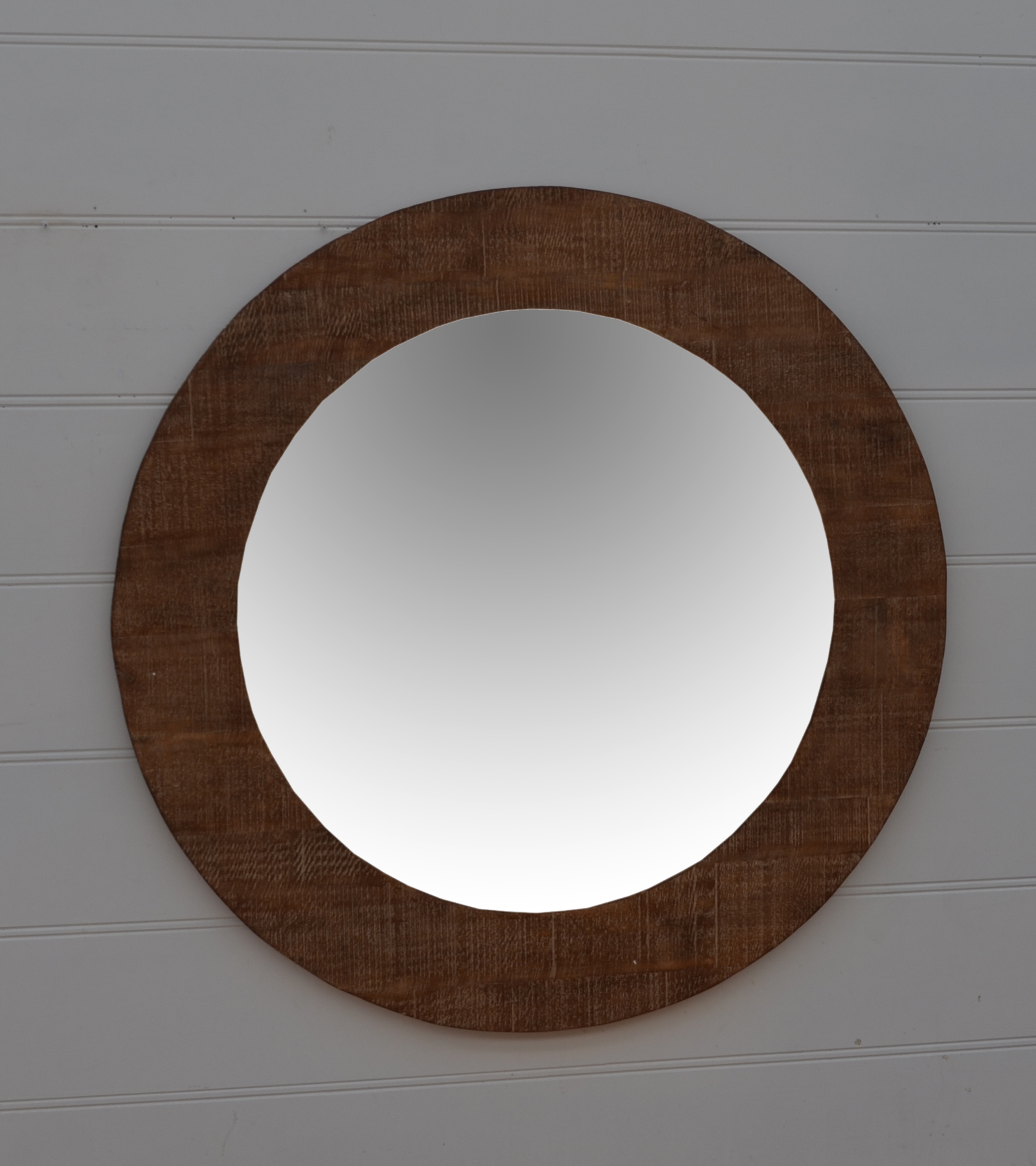 Blanc Wood mirror santa barbara design center