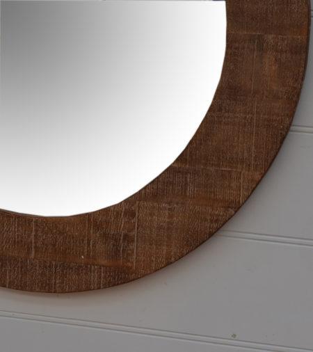 Blanc Wood mirror santa barbara design center