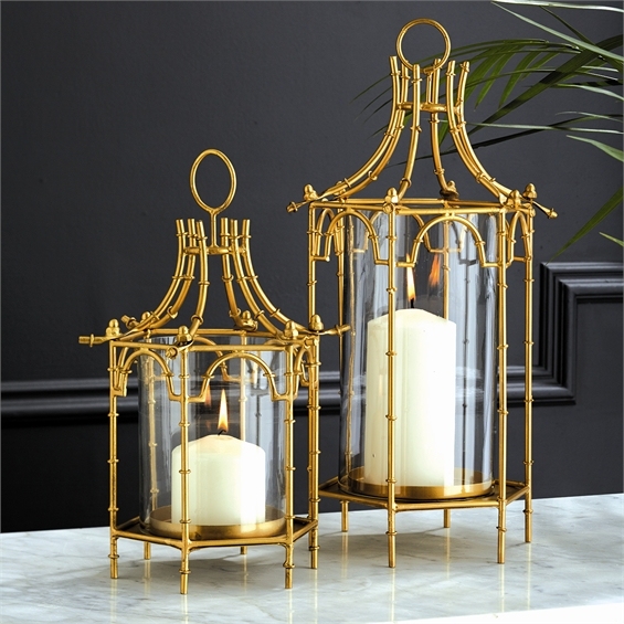 Small Pagoda Lantern Santa Barbara Design Center 1