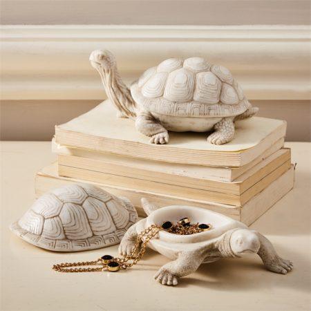 Tortoise Covered Box santa barbara design center