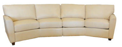 Mark leather sectional santa barbara design center