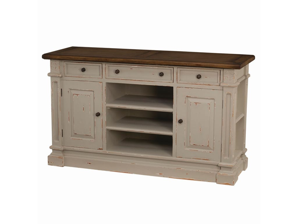 Riley Distressed Tv Stand