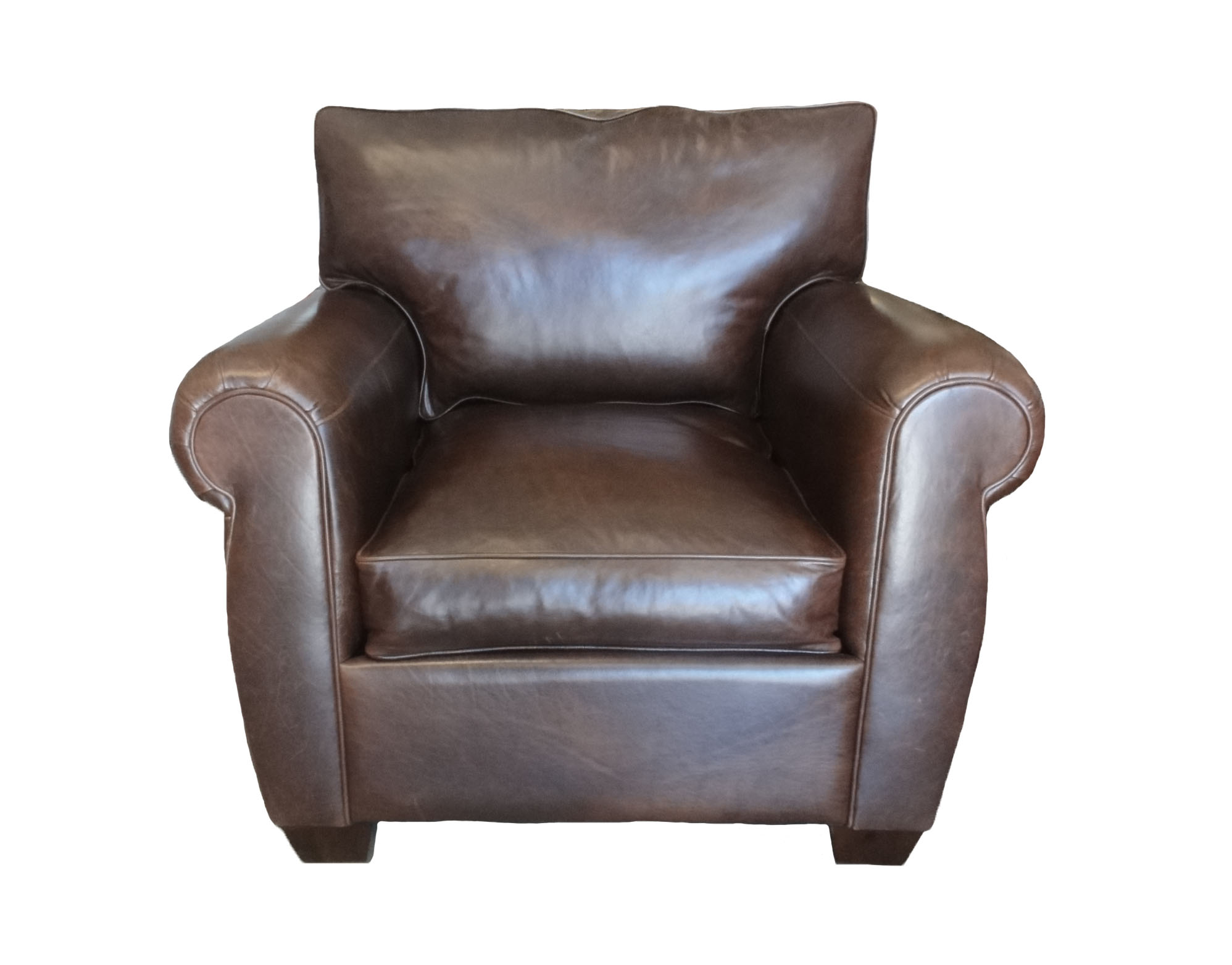 Raul Leather Chair santa barbara design center-1