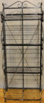 Antique French Metal Bakery Rack. A genuine antique sold by the Santa Barbara Design Center in Santa Barbara, California.