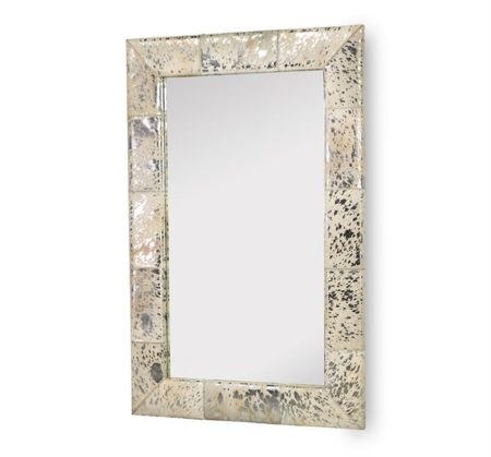 Allie Metallic Hide Mirror