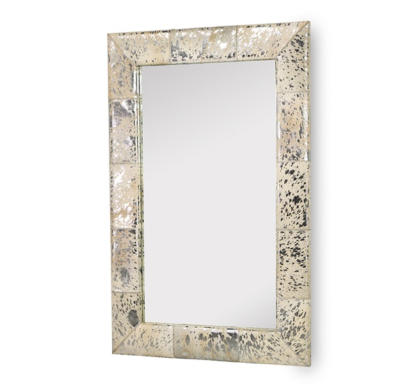 Allie Metallic Hide Mirror