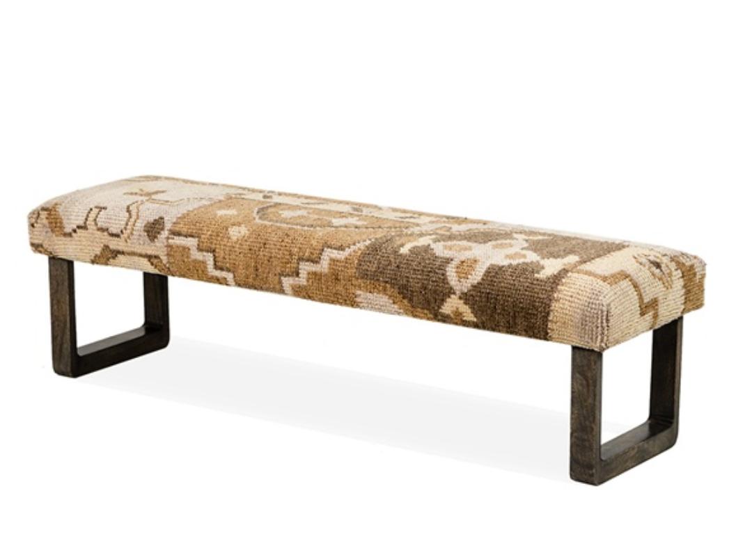 Patchwork bench santa barbara design center 30540-2