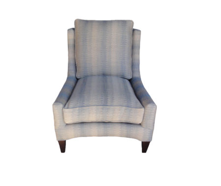 Patterned Logata Club Chair santa barbara design center sofa couch loveseat highback