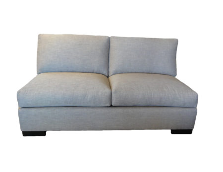 Sarah Armless sofa santa barbara design center rugs and more oriental carpet loveseat couch sectional