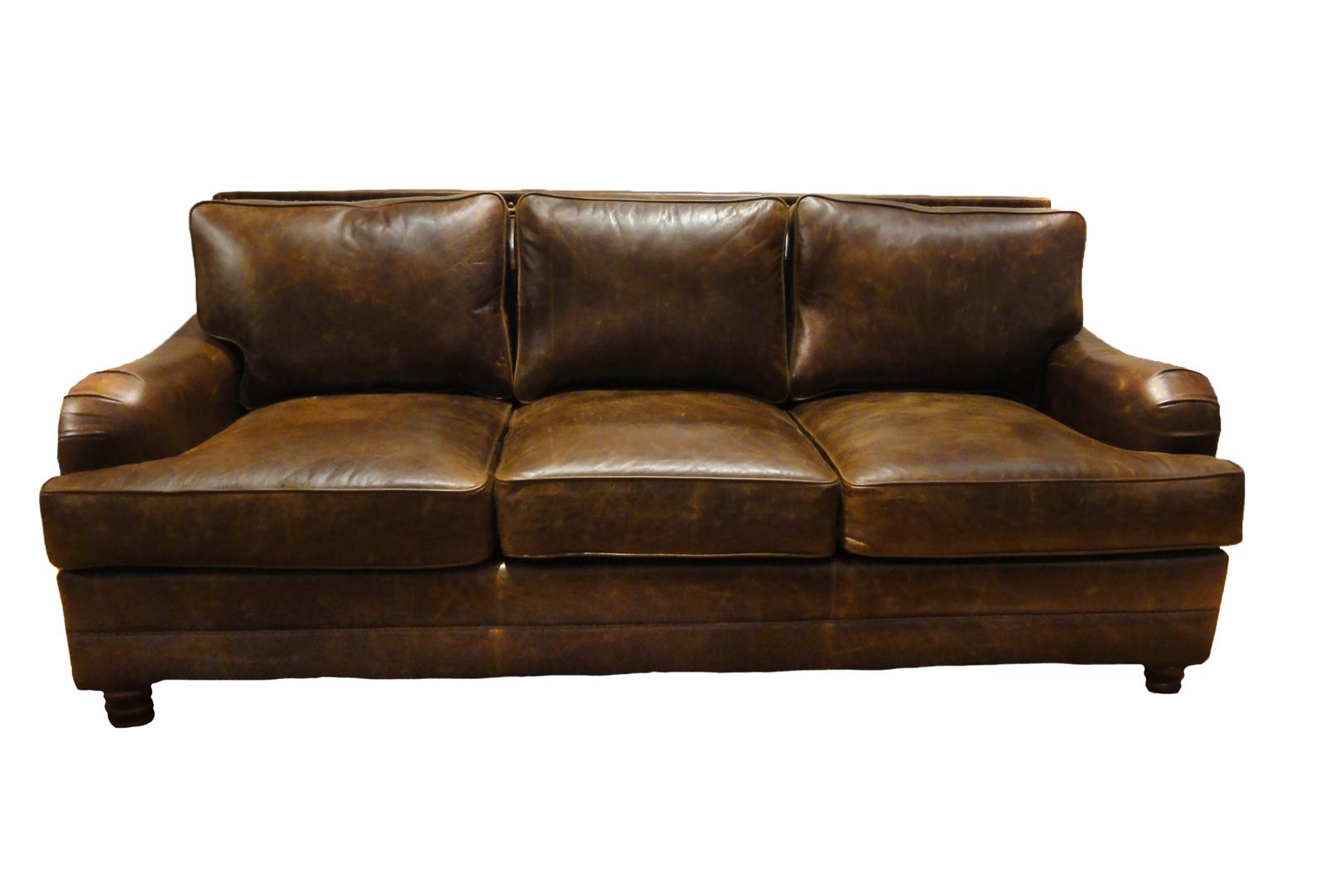 Pamella Leather Sofa