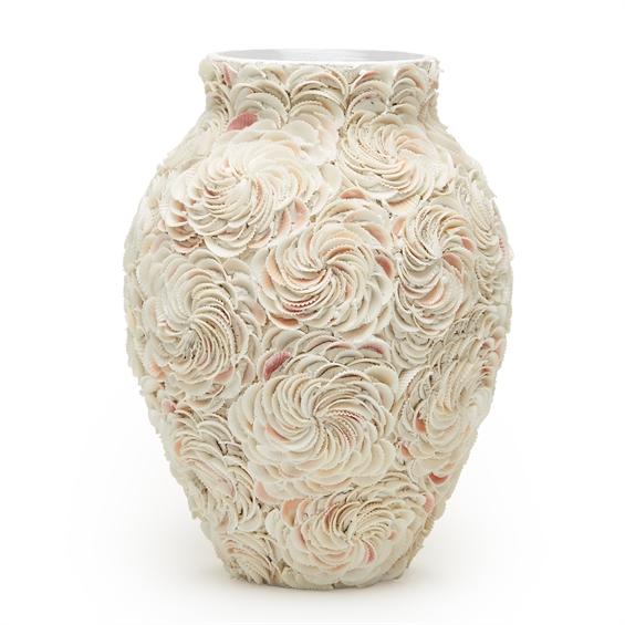 Shell vase santa barbara design center home decor accessories