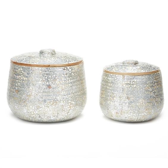 med Silver Container santa barbara design center accessories home decor