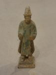 Tang Dynasty Green Clay Tomb Figure- Santa Barbara Design Center
