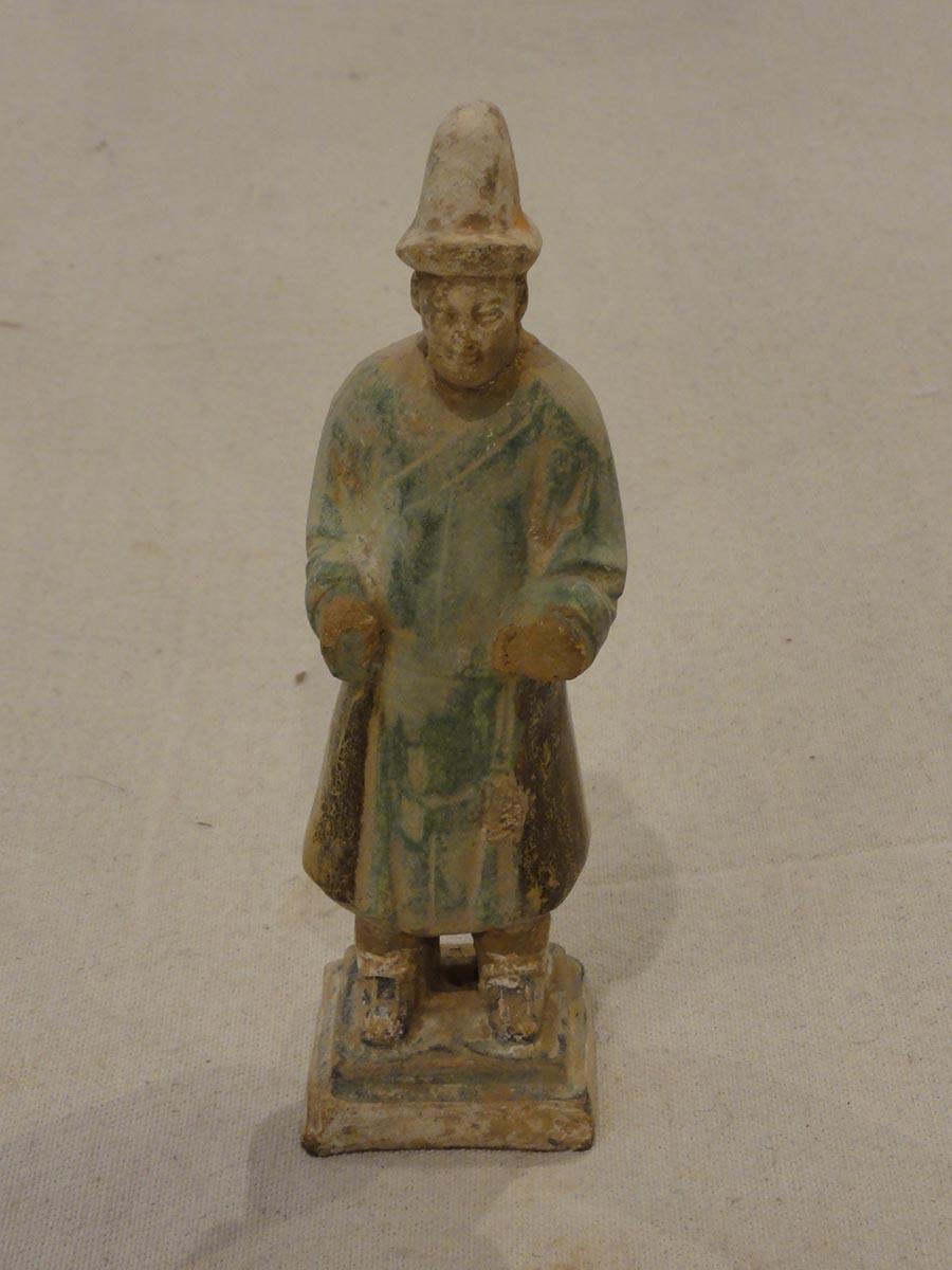 Tang Dynasty Green Clay Tomb Figure- Santa Barbara Design Center