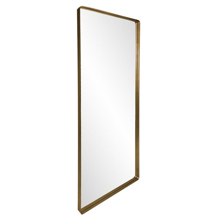 Brit Large Brass Mirror