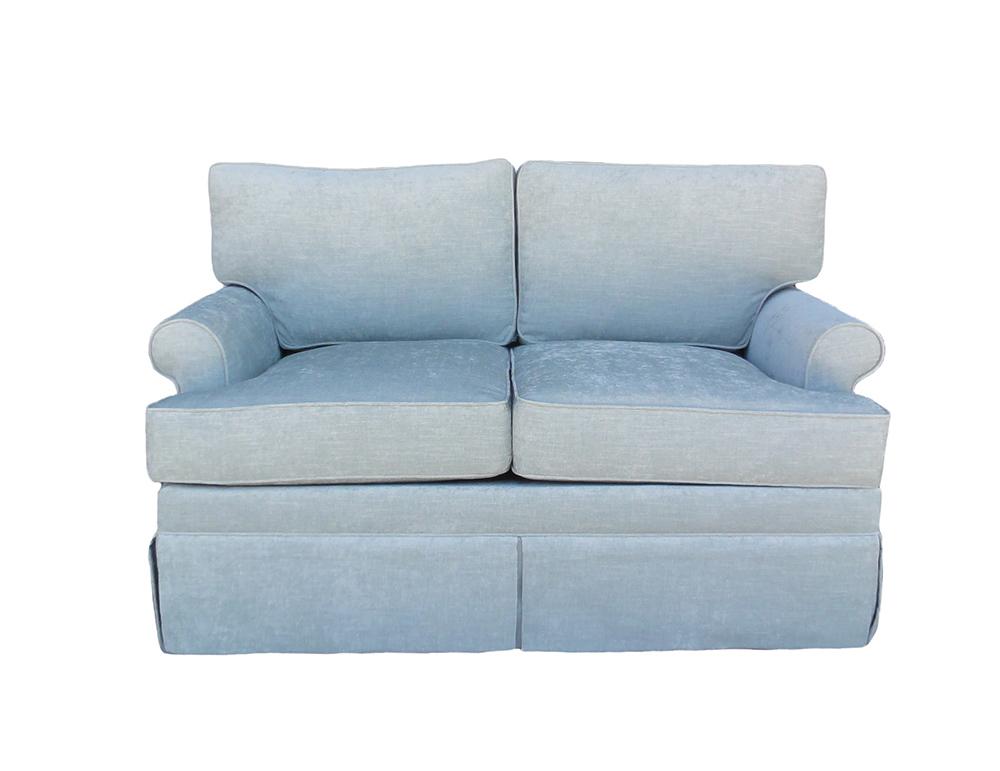 leesa loveseat santa barbara design center furniture sofa couch -1