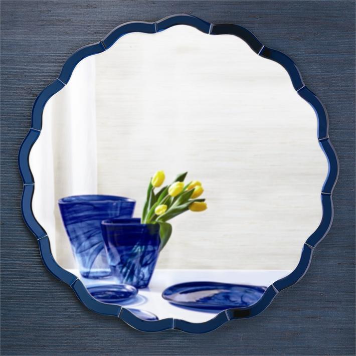 Blue Wave Mirror