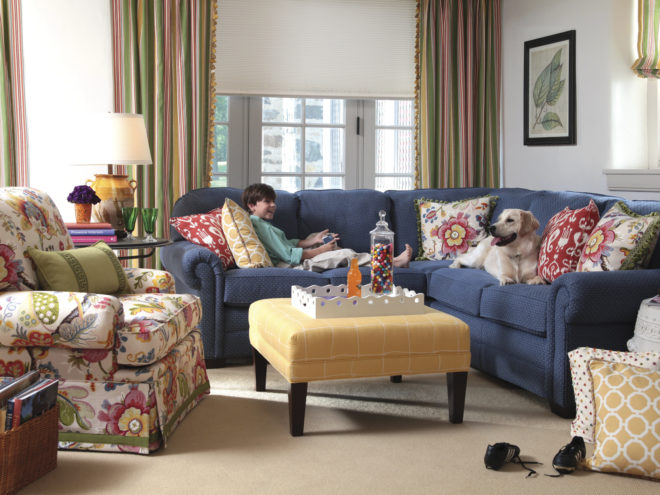 How To Pick A Kid and Pet Friendly Sofa For Your Home santa barbara design center