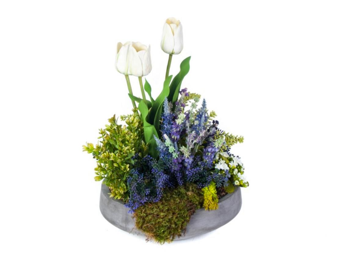Tulip / Lavender Bowl