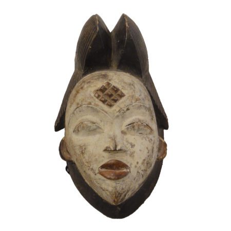 Mask Punu-Gabon Ceremonial Mask santa barbara design center 32838-