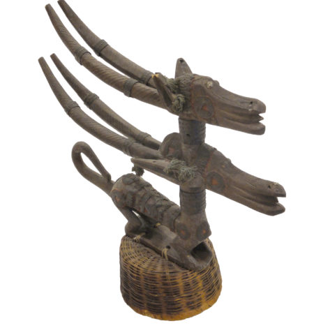 Ceremonial African Hat bambara antelope chiwara santa barbara design center african art 33292-