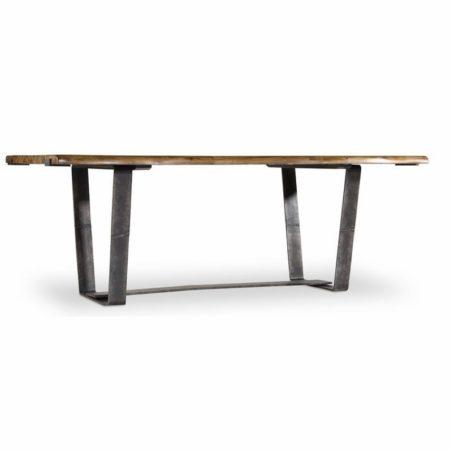 Live Edge Dining Table hooker furniture santa barbara design center 5590-75200