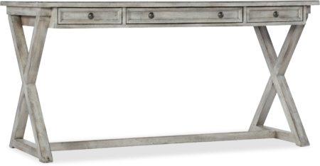 Melange Dixon Writing Desk santa barbara design center hooker furniture 638-10019-GRY(2
