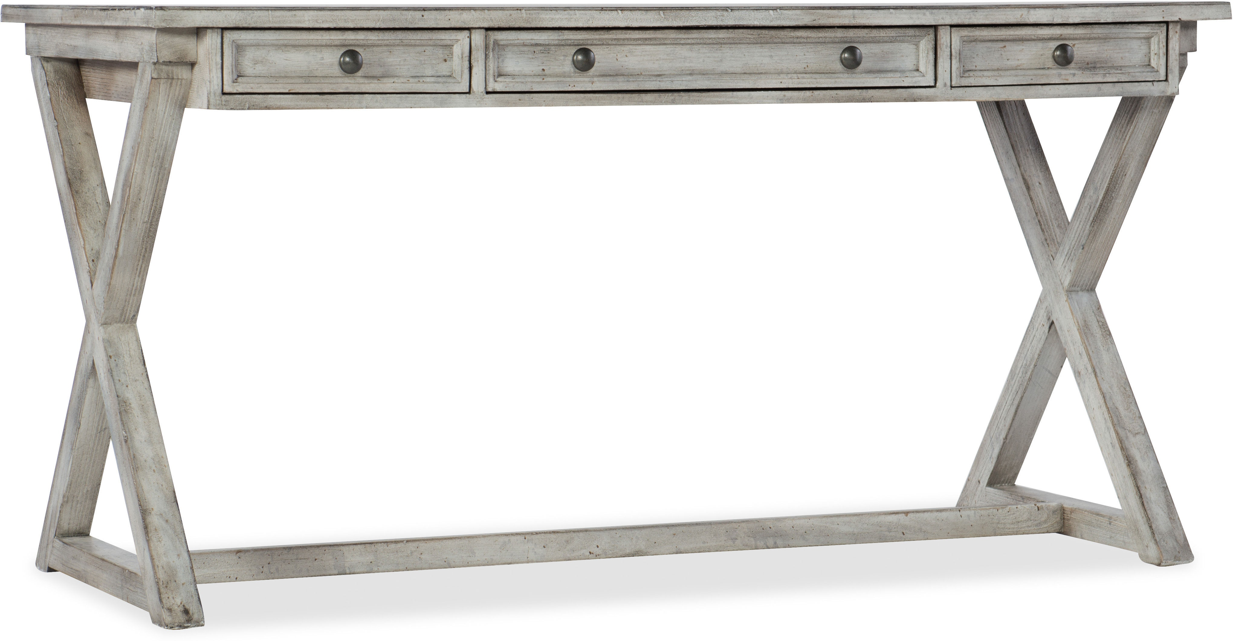 Melange Dixon Writing Desk santa barbara design center hooker furniture 638-10019-GRY(2