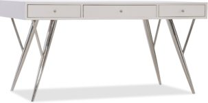 Sophisticated Contemporary Writing Desk hooker furniture 5622-10460-WH(1